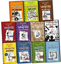 Diary of a Wimpy Kid Collection 11 Books Set Pack by Jeff Kinney RRP: £90.97 (T