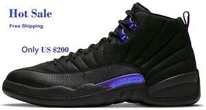 Air Jordan 12 Concord Black Retro Men shoes