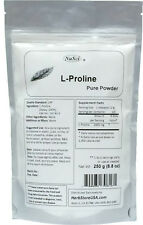 250g Pure L-Proline Powder (8.8oz) USP Pharmaceutical  Collagen Component