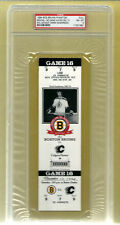 PSA 8 DEREK SANDERSON 1994 Unused NHL Hockey Ticket Boston Bruins at the Garden