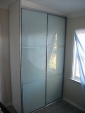 Complete Built-In Wardrobe up to 2400mm frosted panel doors **Fully Installed**