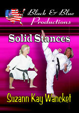 Suzanne Kay Wancket-Yu teaches Solid Traditional Stances Instructional Dvd