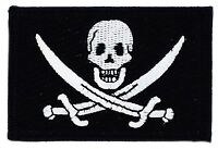 PIRATE JACK RACKHAM FLAG PATCH PATCHES BADGE IRON ON NEW EMBROIDERED