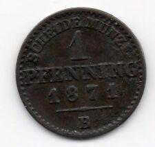 Germany - Preussen / Prussia - 1 Pfennig 1871 B