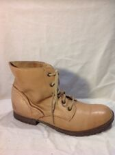 Atmosphere Brown Ankle Leather Boots Size 6
