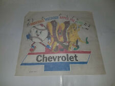1975 CHEVROLET AMERICA'S FAVORITE BASEBALL HOTDOG APPLE PIE T-SHIRT TRANSFERS