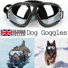 More details for cool dog sunglasses waterproof windproof uv proof pet eyeware adjustable goggles