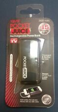 Tzumi Black Pocket Juice Power Bank Mobile Charger 2600mAh New sealed Never used