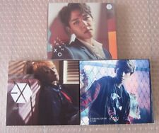 EXO Baekhyun Cover CD Album Set of 3 COUNT DOWN Coming Over Love Me Right K-POP