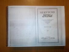Manual taller Ford 1927 , totalmente en español  , 365 paginas , Ford T y otros