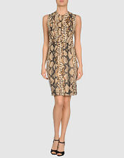 BLUMARINE SNAKE PRINT DRESS IT 38= UK 6. US 2. EU 34  New with tags!!