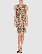 BLUMARINE Snake Print Dress IT 38 = UK 6. noi 2. EU 34 Nuovo con Etichette!!