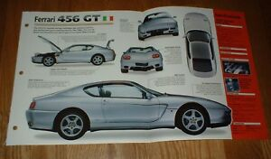 ★★1998 FERRARI 456 GTA SPEC SHEET BROCHURE POSTER PRINT PHOTO 92 03 98 GT★★