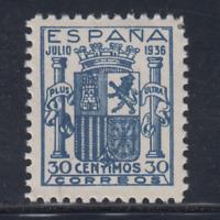 ESPAÑA (1936) NUEVO SIN FIJASELLOS MNH SPAIN - EDIFIL 801 FALSO - LOTE 3