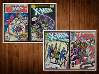 Lot of 4 Uncanny X-Men #192 & 236 Annual #12 & 13 FN - VF Nice Set! See Listing!