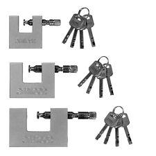 50mm 70mm 90mm Steel Shutter Heavy Duty Steel Container Shutter Padlock 4 Keys