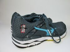 Mizuno Wave Inspire 10 Womens Gray Blue Running Shoes Athletic Lace Up Size 9