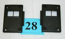 82-92 Camaro 82-86 Firebird Black Power Lock Switch Mounting Panels NICE  #28