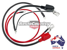 Holden Commodore Battery Cable + Clamp Set VB VC VH V8 253 308 UP TO 140 AMP ALT
