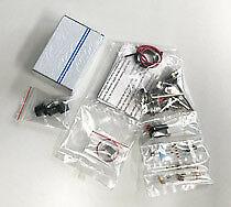 QRM eliminator(73) X-phase buildingkit incl. parts, PCB undrilled, knobs and box