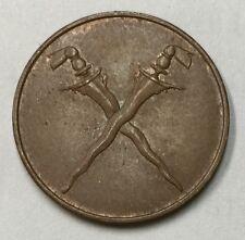 1962 Malaya 1 sen Kris copper coin  very high grade