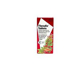 NEW! Floradix Iron Supplement Tablets 84 Tablets