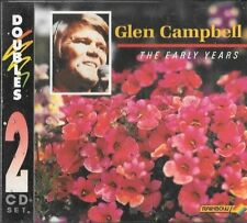 """GLEN CAMPBELL """"THE EARLY YEARS"""" RARE RAINBOW 2CD AUSTRALIA ONLY 2RCD 059/060"""