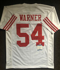 Fred Warner Signed Autographed San Francisco 49ers Jersey BECKETT BAS COA 12