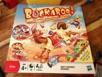 BUCKAROO GAME SADDLE STACKING MOODIE MULE COMPLETE LOVELY CONDITION HASBRO 2011