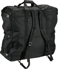 S and S coupler backpack soft bicycle travel case black