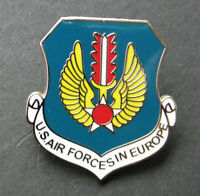 US AIR FORCE USAF FORCES IN EUROPE LAPEL PIN BADGE 1 INCH