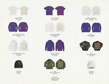 Kanye West Pablo Pop-Up Shop Order Form Menu