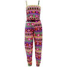 Combinaisons shorts et pantalons multicolore pour fille de 2 à 16 ans