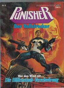 Punisher Großbandüberformat Bastei Nr. 1 - 6 (1-2) + ( 2 ) 1990