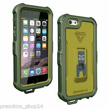 Armor-X Impermeabile Outdoor Waterproof Protezione Case per iPhone 6S 6 in verde