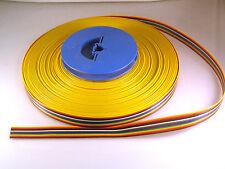 SAE 04416 Varios Colores Cinta Cable Awg 28-7/36 300V 105'C 16 vías de 5M OMR3-04