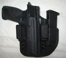 CUSTOM Kydex IWB Holster with extra Mag Carrier for S&W M&P Full Size