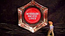Missouri Pacific Lines Railroad, MoPac Hexagonal Ashtray, Lot#3874b