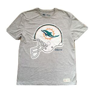 Men's Official NFL Miami Dolphins T-Shirt By TU - Size L Large - Free Shipping