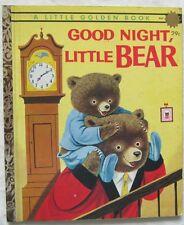 Little Golden Book Good Night Little Bear 1961 #447