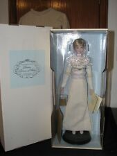 Vtg Lady Diana Princess of Wales Porcelain doll Franklin mint W/ Box