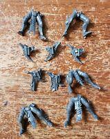 Warhammer 40k Dark Eldar Drukhari Bits:Kabalite Warriors Legs Sets x5