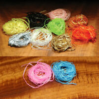 Hareline Flat Diamond Braid Fly Tying Materials - All Colors & Sizes