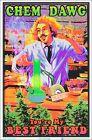 Chem Dawg Blacklight Poster 23 x 35