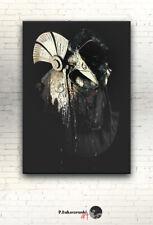 "Stargate SG-1 CANVAS 16""x12"" print photo poster mask helmet alien anubis jaffa"