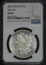 1879-S Reverse of 78 Morgan Dollar Top 100 NGC AU-58