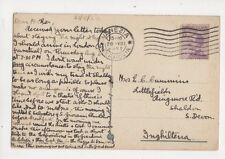 Mrs EC Cummins Littlefields Ringmore Road Shaldon 1922  294b