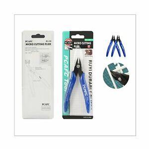 Flush Side Cutter Precision Shear Wire Snips Pliers Tool Diagonal Mini Cutters