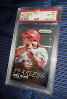 2013 Panini Prizm Fearless Mike Trout PSA 10 Gem Mint #F4