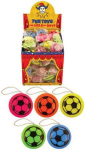 Mini football YO YO toy boys girls birthday party bag loot favour filler